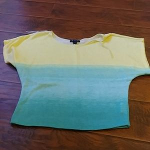 A.BYER Two color top size S